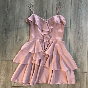 Bebe Mini Dress (Light Pink)
